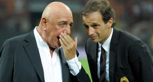 milan allegri galliani