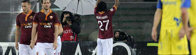Gervinho Roma Chievo
